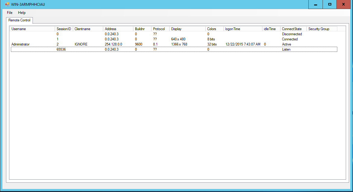 RDM - Remote Desktop Manager screenshot
